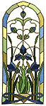 Click for more details of Iris Window (cross-stitch pattern) by Art-Stitch