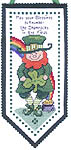 Click for more details of Irish Hang-Up (cross-stitch pattern) by Imaginating