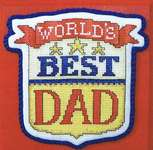 Click for more details of It's all about Dad (cross stitch) by Sue Hillis Designs