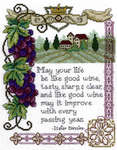 Click for more details of Italian Blessing (cross-stitch) by Imaginating