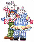 Click for more details of Itty Bitty Kitties (cross-stitch pattern) by Alma Lynne