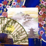 Click for more details of Japanese Ambience (cross-stitch kit) by Royal Paris