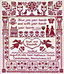 Click for more details of Join Your Hands (cross-stitch pattern) by Lila's Studio