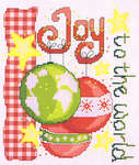 Click for more details of Joy to the World (cross-stitch pattern) by Cinnamon Cat
