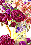 Click for more details of Jug of Summer Flowers (cross-stitch) by Thea Gouverneur