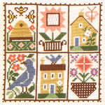 Click for more details of June (cross stitch) by The Prairie Schooler