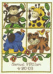 Click for more details of Jungle Baby (cross-stitch pattern) by Imaginating