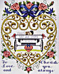 Click for more details of Just Married (cross-stitch kit) by Janlynn