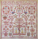 Click for more details of Katrine Thomsen - 1858 (cross-stitch pattern) by Samplers Remembered