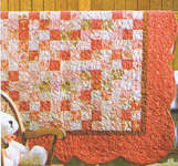 Click for more details of Keepsake Baby Quilts from Scraps (patchwork and quilting pattern) by House of White Birches