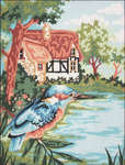 Click for more details of Kingfisher (tapestry kit) by Penelope