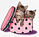 Click for more details of Kitten Twins (cross stitch) by Thea Gouverneur