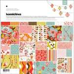 "Click for more details of Konnichiwa Collection Pack (Papers & Stickers) 12""x12"" (paper craft kits and album kits) by Basic Grey"