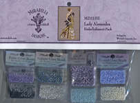Click for more details of Lady Alexandra Embellishment Pack (beads and sequins) by Mirabilia Designs