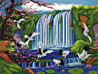 Click for more details of Land of Paradise (cross stitch) by Pinn Stitch