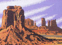 Click for more details of Landmarks of America (cross stitch) by Stoney Creek