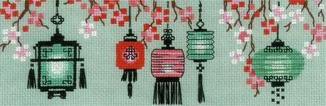 Click for more details of Lanterns (cross stitch) by Riolis