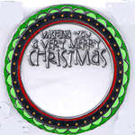 Click for more details of Large Christmas Tags Clear Stamp Set (stamps) by Hero Arts