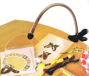 Click for more details of Large Diameter Clip-on Magnifier (magnifiers) by Siesta Frames