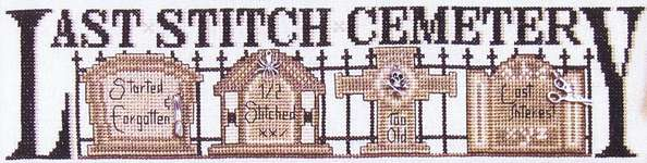 Click for more details of Last Stitch Cemetery (cross-stitch) by Hinzeit