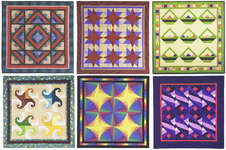 Click for more details of Learn to make a Foundation - Pieced Quilt (patchwork and quilting pattern) by House of White Birches
