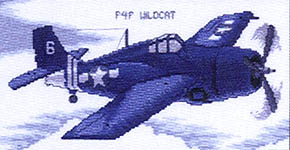 Click for more details of Legendary Aircraft (cross-stitch pattern) by Stoney Creek