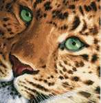 Click for more details of Leopard (cross-stitch) by Lanarte