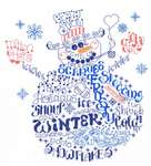 Click for more details of Let's be Jolly (cross-stitch pattern) by Imaginating