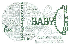 Click for more details of Let's Love Baby (cross stitch) by Imaginating