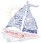 Click for more details of Let's Sail into Summer (cross-stitch pattern) by Imaginating