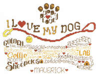 Click for more details of Let's Wag More (cross stitch) by Imaginating