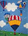Click for more details of Lift Off (Right) (tapestry kit) by Cleopatra's Needle