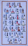 Click for more details of Lighthouse Alphabet (cross-stitch pattern) by Treetrunk Designs