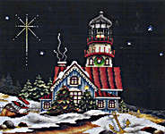 Click for more details of Lighthouse of Christmas IV (cross stitch) by Stoney Creek