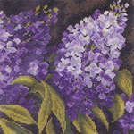 Click for more details of Lilac (cross-stitch) by Lanarte