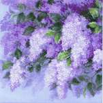 Click for more details of Lilacs after the Rain (cross stitch) by Riolis