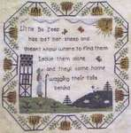 Click for more details of Little Bo Peep (cross stitch) by Willow Hill Samplings