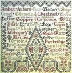 Click for more details of Little Brown Jug (cross stitch) by Tempting Tangles Designs