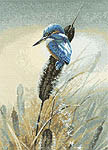 Click for more details of Little Fisher (cross stitch) by Warwick Higgs