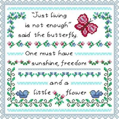 Click for more details of Little Flower (cross-stitch) by Designs by Cathy