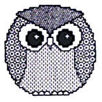 Click for more details of Little Owl (blackwork kit) by Classic Embroidery