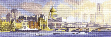 Click for more details of London Skyline (cross-stitch pattern) by John Clayton