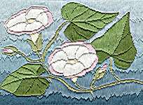 Click for more details of Long Stitch - Convolvulus (long-stitch) by Anne Peden