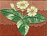 Click for more details of Long Stitch Mini Kit - Primrose (long-stitch) by Anne Peden