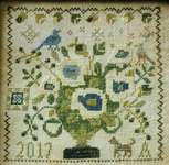 Click for more details of Loose Feathers - Sing a Song of Seasons (cross stitch) by Blackbird Designs