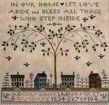 Click for more details of Love Abide (cross stitch) by La - D - Da