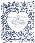 Click for more details of Love Always (cross-stitch pattern) by Imaginating