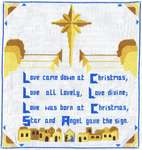 Click for more details of Love Came Down At Christmas (cross-stitch) by Anne Peden