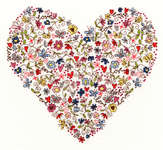 Click for more details of Love Heart (cross stitch) by Bothy Threads