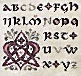 Click for more details of Love Letters - Celtic (cross stitch) by Ink Circles